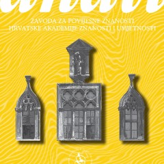 The fifty-fourth volume of Annals of the Institute for Historical sciences of CASA in Dubrovnik