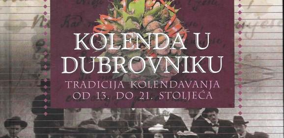 Jelena Obradović Mojaš, Kolenda u Dubrovniku
