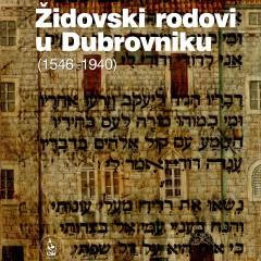 Vesna Miović, Židovski rodovi u Dubrovniku (1546-1940)