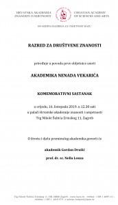 Komemorativni sastanak u spomen akademiku Nenadu Vekariću_16 09