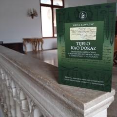 Neda Kovačić, Tijelo kao dokaz. Medicinska vještačenja u postupcima Kaznenog suda u Dubrovniku u 18. stoljeću.