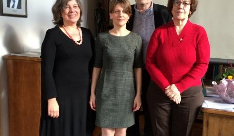 Kristina Puljizević successfully defended her PhD dissertation